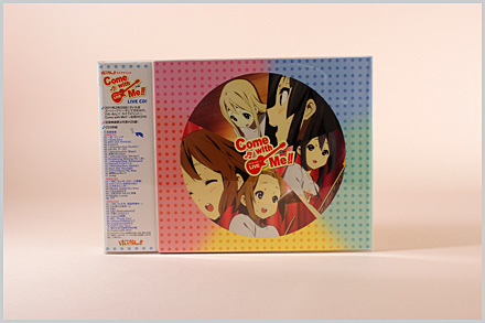 けいおん Come with MeのライブCDが発売されました!