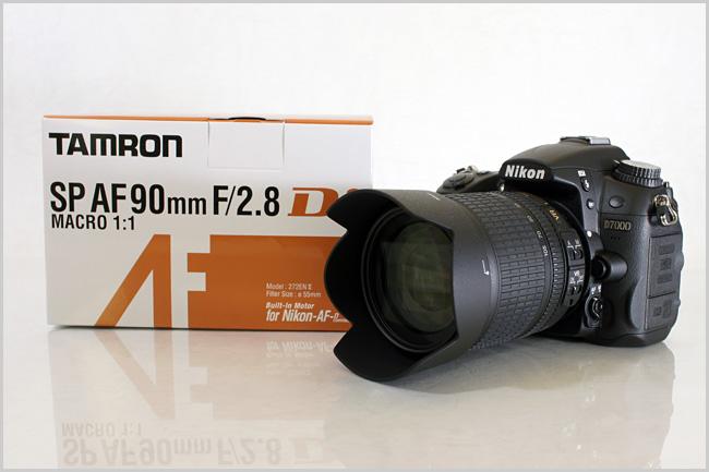 Nikon D7000とTAMRON 90mmマクロを買いました。