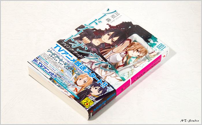 原作 ソードアート・オンライン1巻を買って来ました。