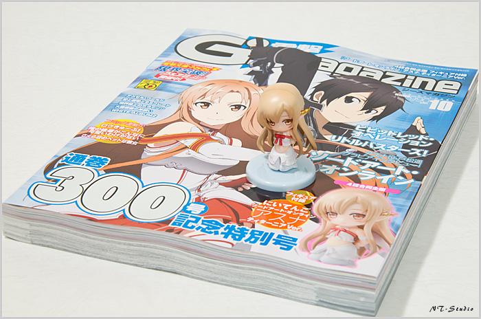 電撃G's magazine 10月号 アスナ ティターニアVer.