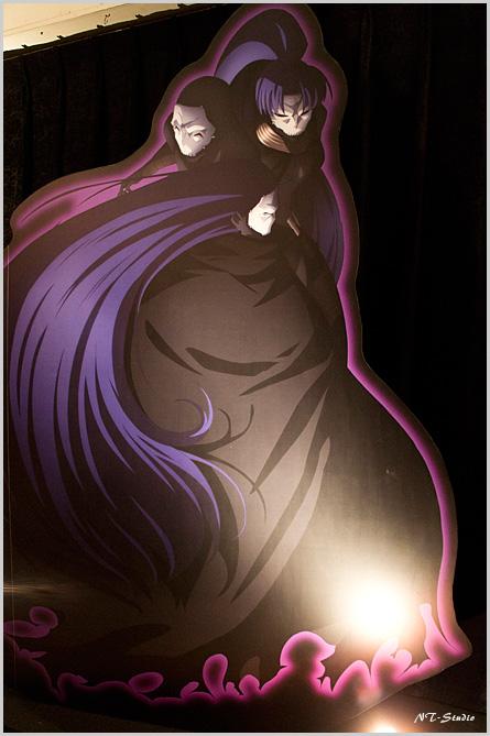 Fate/Zero 第四次聖杯戦争展 パネル