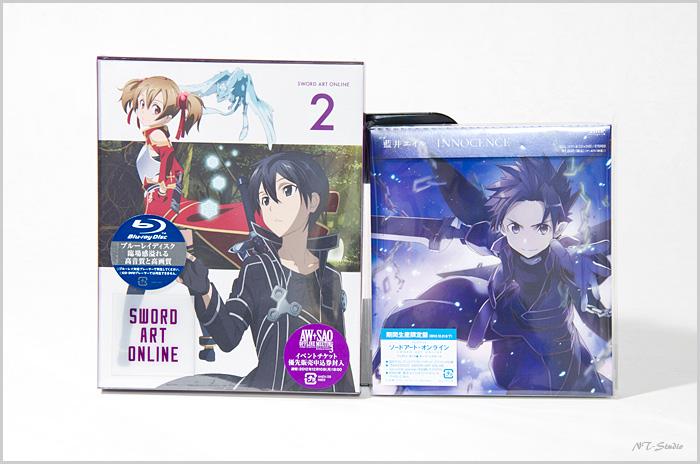 ソードアート・オンライン BD2巻&CD