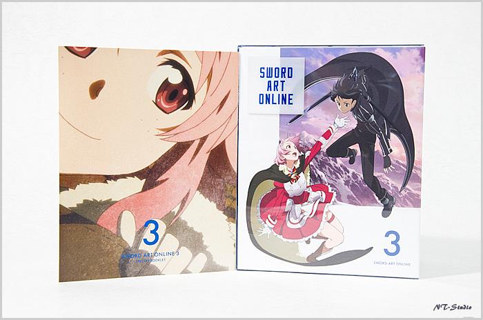 SAO ブルーレイ 3巻発売しました!