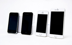 iPhone6sが届いたので、歴代iPhoneとカメラ画質を比べてみました。